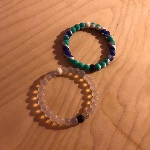Two water  bracelets